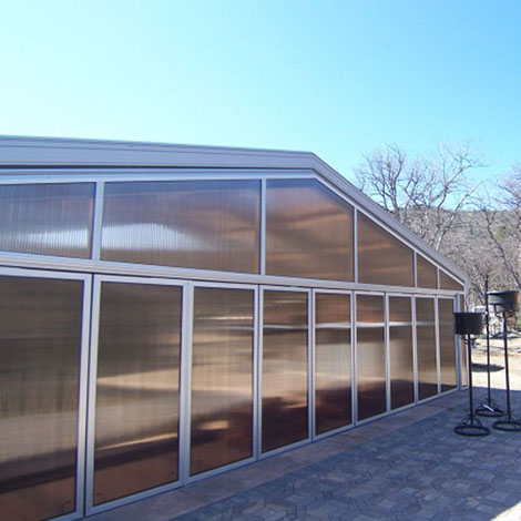 Exterior Wall Panels - Multiwall Polycarbonate