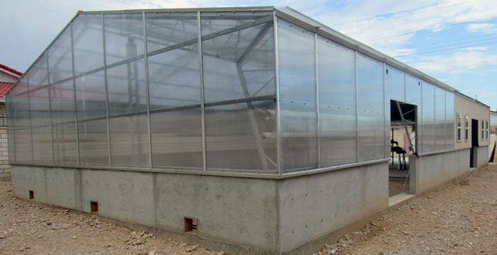 Greenhouse w/Base and Cap System