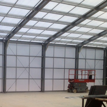 Warehouse w/Polycarbonate Base and Cap System